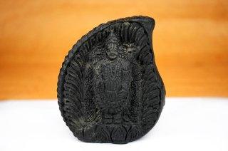 ティルパティ・バラジ神像(シャーラグラーマ、510g)(受注発注品)