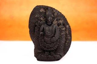 ティルパティ・バラジ神像(シャーラグラーマ、343g)(受注発注品)