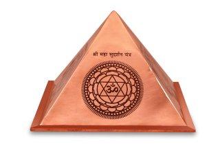 プロテクション・ヤントラ・ピラミッド(銅製)(受注製作)