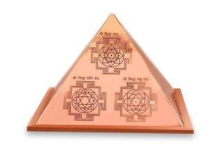 ナヴァグラハ・ヤントラ・ピラミッド(銅製)【受注製作】