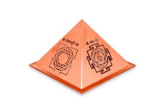 ウィズダム・ヤントラ・ピラミッド(銅製)(受注製作)