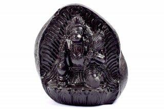 ハヌマーン神像(シャーラグラーマ、515g)(受注発注品)