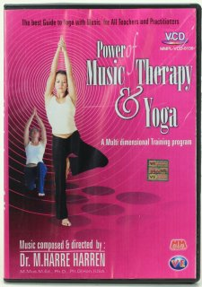 Power of Music Therapy & Yoga(VCD)