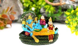 アナンタ・パドマナーバ神像(シャーラグラーマ、283グラム)(受注発注品)
