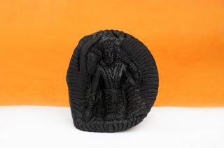 バララーマ神像(シャーラグラーマ、141グラム)(受注発注品)