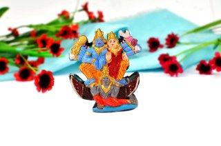 シュリーマン・ナーラーヤナ神像(シャーラグラーマ、132グラム)(受注発注品)