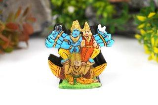 シュリーマン・ナーラーヤナ神像(シャーラグラーマ、266グラム)(受注発注品)