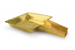 アビシェーカ・トレイ(真鍮製、スクエア)(受注製作)