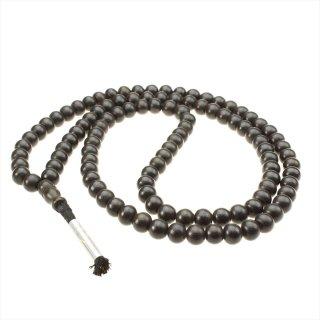 黒壇数珠(108+1ビーズ、10mmサイズ)