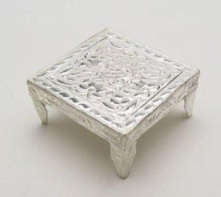 台座(洋白製、5cm×5cm)