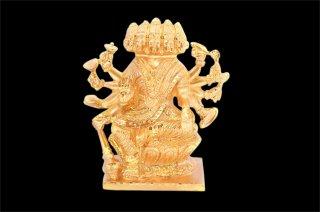 ガーヤトリー女神像(パンチャローカム、大サイズ)(受注製作)