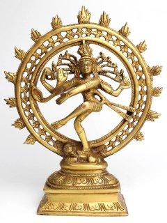 ナタラージャ像(真鍮製、高さ約24cm)