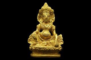 クベーラ神像(真鍮製)