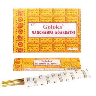 ゴロカ・ナグチャンパ(1ダース、12箱入り)