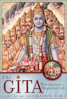 The Gita Deck: Wisdom from the Bhagavad Gita [カード]