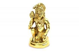 ハヌマーン神像(真鍮製、高さ約11.5cm)