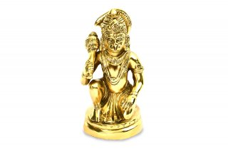 ハヌマーン神像(真鍮製、高さ約12.7cm)