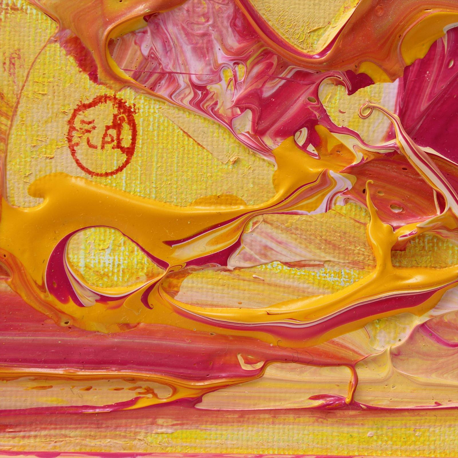 自然運筆法の創始者である野原元成氏による女神様シリーズの作品「女神様8... スピリチュアルイン