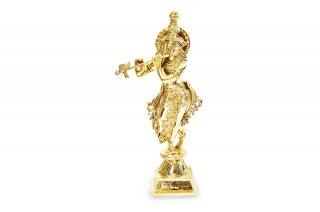 クリシュナ・リーラ神像(真鍮製)(受注製作)
