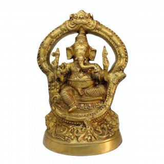 ガネーシャ神像(真鍮製、約4.2kg)