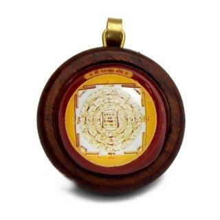 ラーマ・ヤントラ・ペンダント(木製)