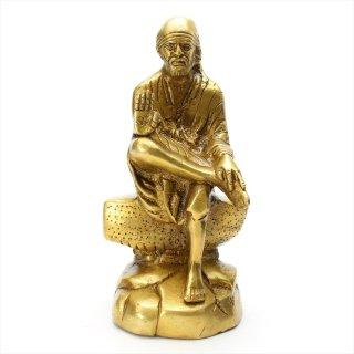 シルディ・サイババ神像(高さ約17.9cm)