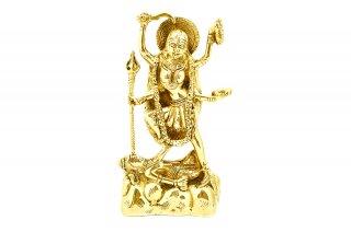 マハー・カーリー女神像(真鍮製)(受注製作)