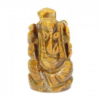 タイガーアイ・ガネーシャ神像(約11グラム、高さ約3.0cm)
