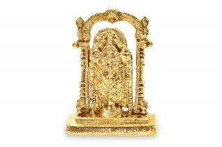 ティルパティ・バラジ神像(真鍮製)