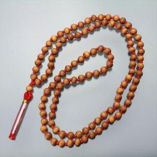 サンダルウッド・マーラー(高品質版、5mmサイズ、赤色)