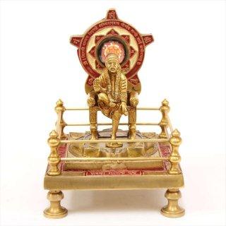 シルディ・サイババ祭壇(真鍮製)