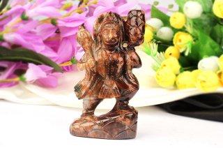 ゴーメーダ(ヘソナイト)・ハヌマーン神像(約367g)(受注発注品)