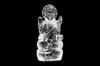 クリスタル・サラスワティー女神像(約42g)(受注発注品)