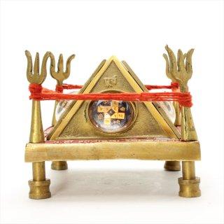 バガラームキー・ラクシャ・カヴァチャ・ヤントラ(立体、真鍮製)