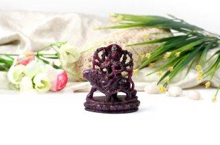ルビー・ドゥルガー女神像(受注発注品)
