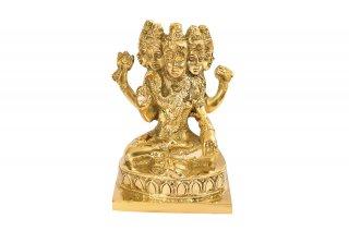 パシュパティナート・シヴァ神像(真鍮製)(受注製作)