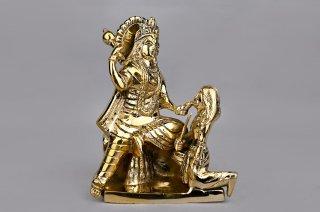 バガラームキー女神像(真鍮製、高さ約28.2cm)(受注製作)