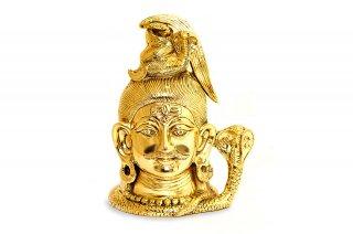 ガンガーダラ神像(真鍮製)(受注製作)