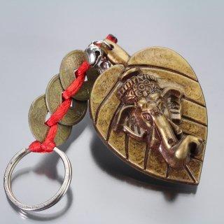 ガネーシャ・キーホルダー(コイン)