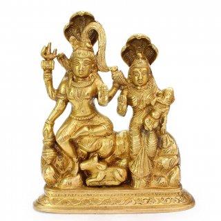 シヴァ・パールヴァティー神像(コブラ冠)