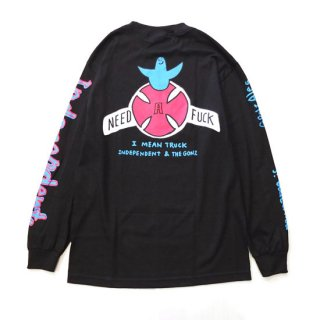 INDEPENDENT TRUCKS  × MARK GONZALES/マークゴンザレス MY NAME IS GONZALES L/S T-SHIRT