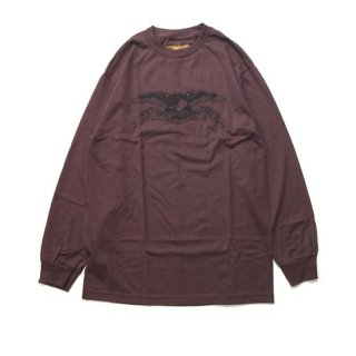 <img class='new_mark_img1' src='//img.shop-pro.jp/img/new/icons5.gif' style='border:none;display:inline;margin:0px;padding:0px;width:auto;' />ANTIHERO EAGLE LONG SLEEVE T-SHIRT