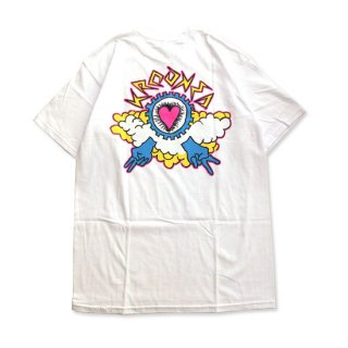 KROOKEDクルーキッド Tシャツ Kumulus Premium T-Shirt WHITE  ART BY MARK GONZALES/マークゴンザレス