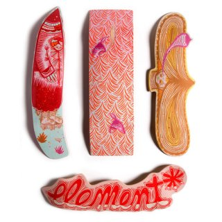 ELEMENT × THOMAS CAMPBELL WOMPUS COLLECTION UMMMMMMM DECK スケートデッキ