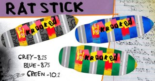 KROOKED RAT STICK 8.25, 8.75, 10.2
