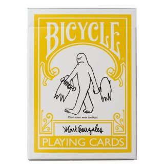 <img class='new_mark_img1' src='//img.shop-pro.jp/img/new/icons5.gif' style='border:none;display:inline;margin:0px;padding:0px;width:auto;' />BICYCLE PLAYING CARDS Mark Gonzales - バイシクルマークゴンザレストランプ