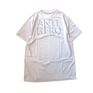 <img class='new_mark_img1' src='//img.shop-pro.jp/img/new/icons5.gif' style='border:none;display:inline;margin:0px;padding:0px;width:auto;' />ANTIHERO DROP POCKET S/S TEE アンタイヒーロー ポケットTシャツ グレー