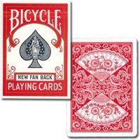 【トランプの最高峰BICYCLE(バイスクル)】バイスクル  808ポーカー  ニューファンバック レッド