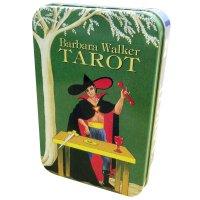【惜しくも絶版品となった人気タロットが缶ケース入りとなって再登場!】バーバラ・ウォーカー・タロット(缶入…
