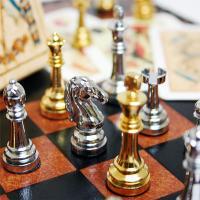 アウトレット20%off 【送料無料】ミニチュアチェス+トランプセット